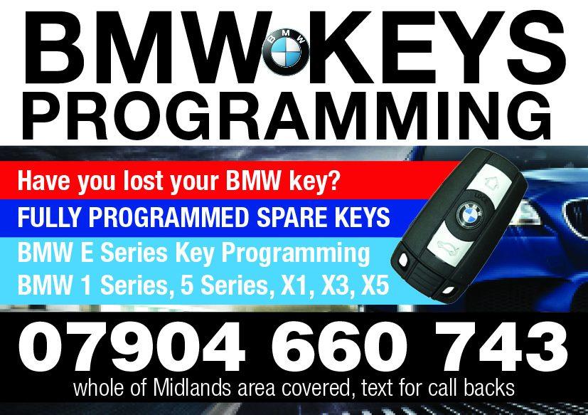 Bmw Lost Key Replacement Www Bmw Key Co Uk